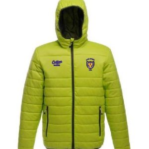 Lime Green Quilted Jacket